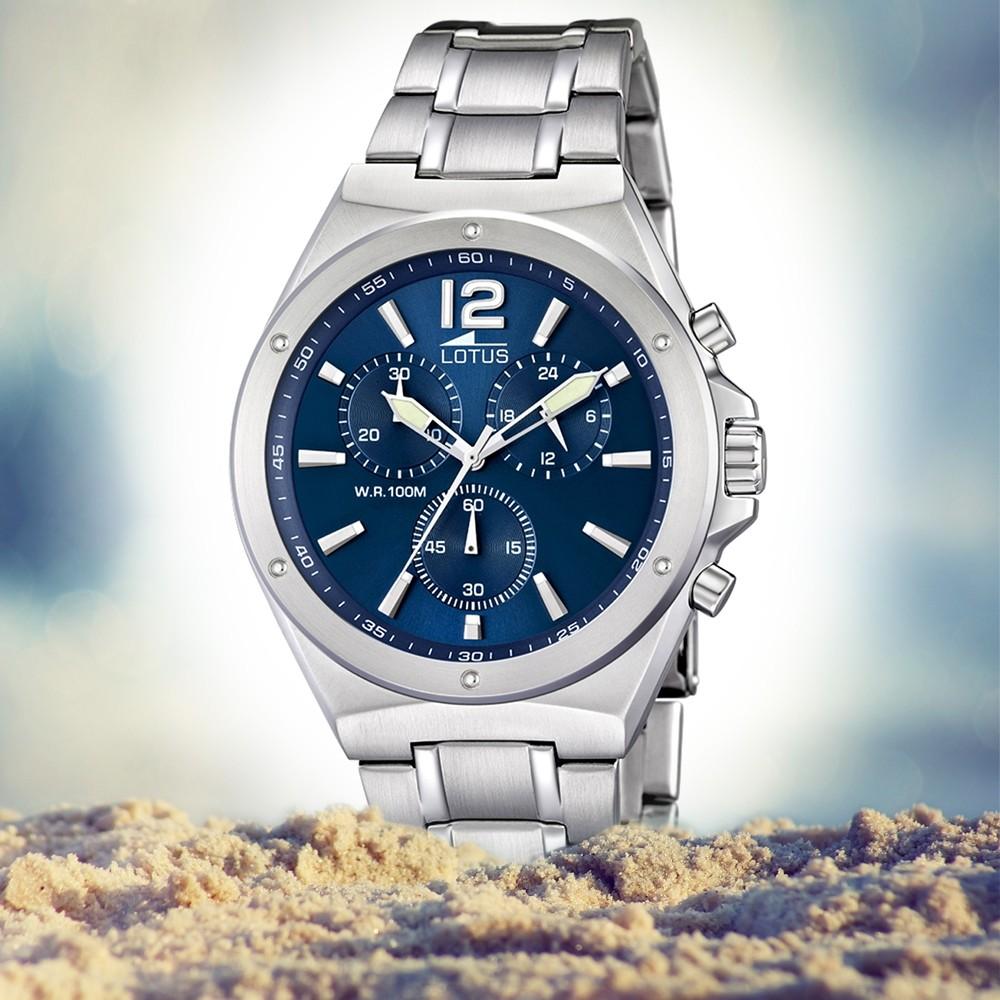 Lotus Ul101183 Herrenuhr Uhren Chronograph Khrono Blau Kollektion eCxQoWrdB