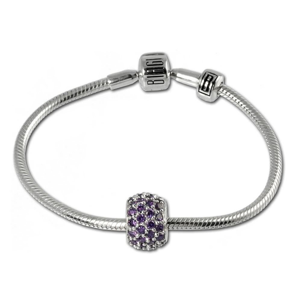 Carlo Biagi Bead Armband + 1 European Beads BBA011