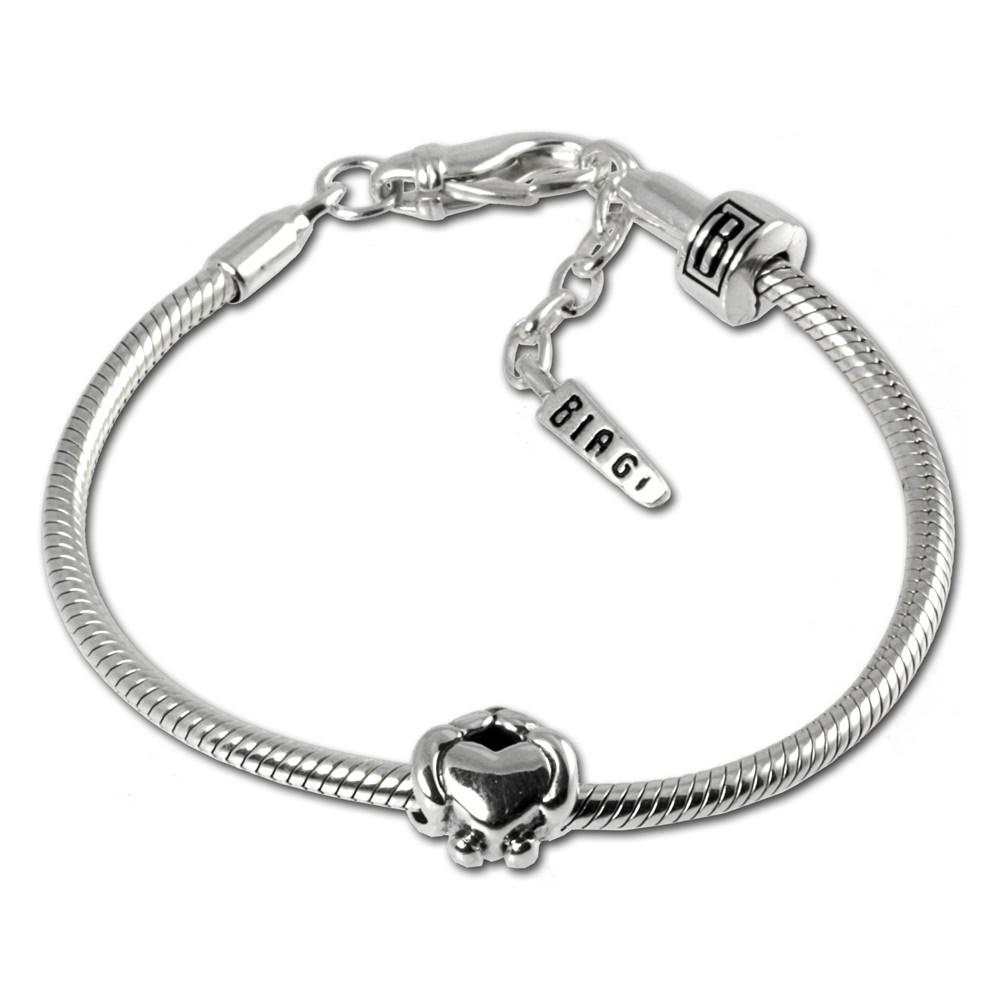 Carlo Biagi Bead Armband + 1 European Beads BBA012
