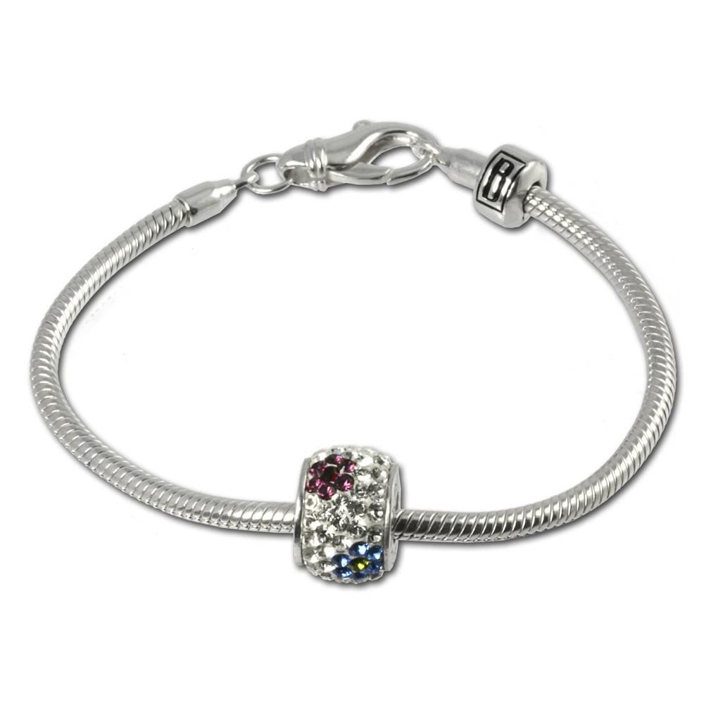 Carlo Biagi Bead Armband + 1 European Beads BBA013