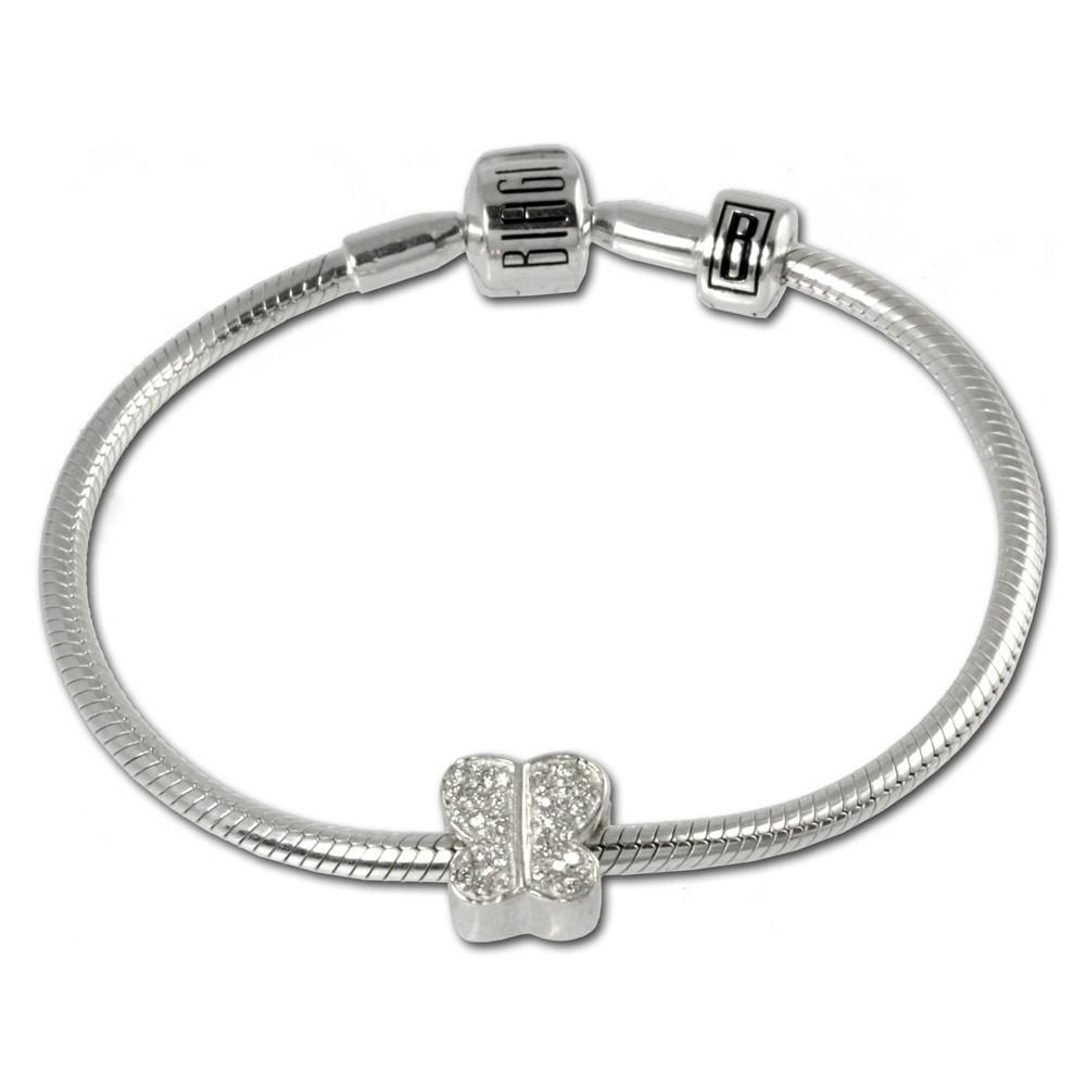 Carlo Biagi Bead Armband + 1 European Beads BBA014