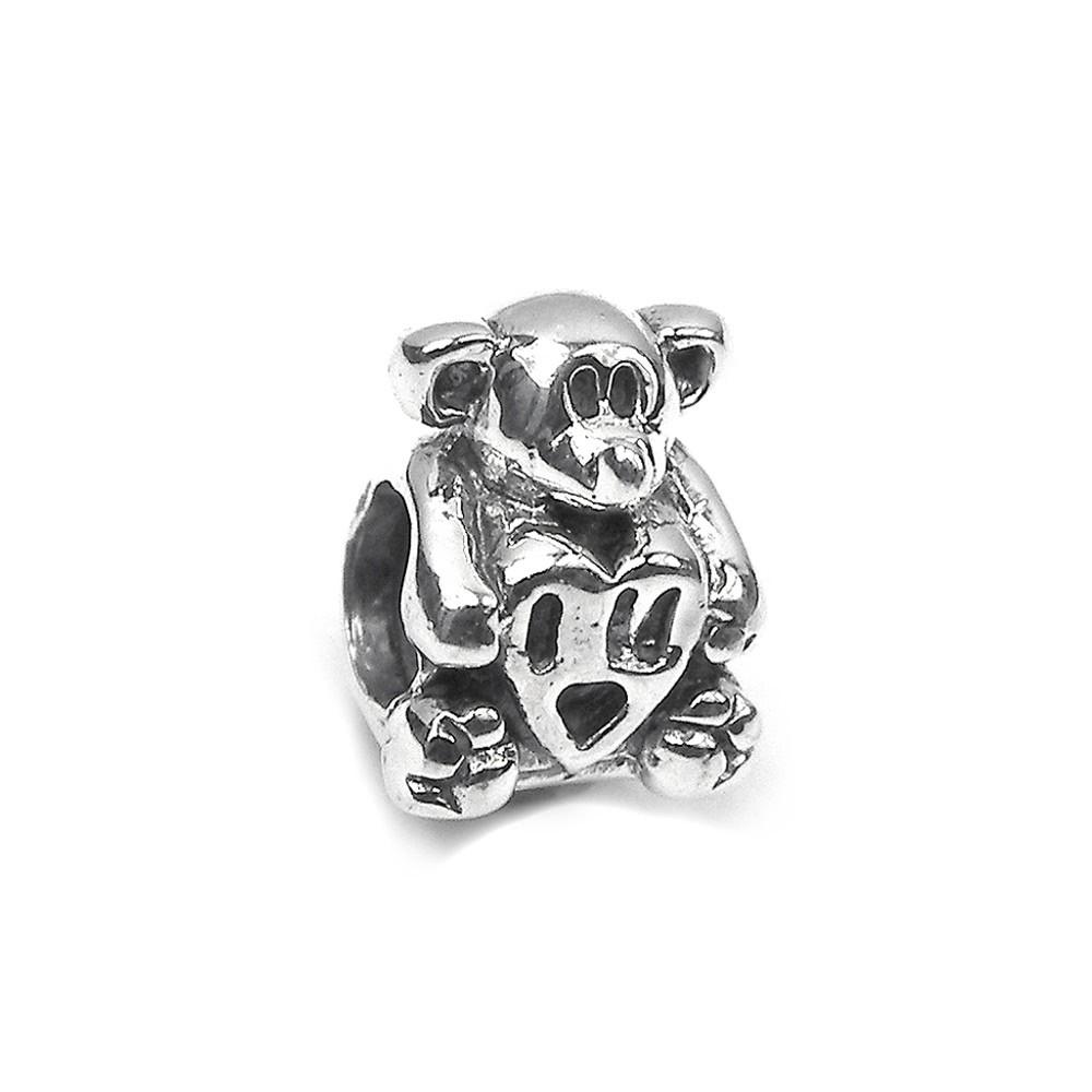 Carlo Biagi Bead Teddy 925 Silber European Beads BBS011