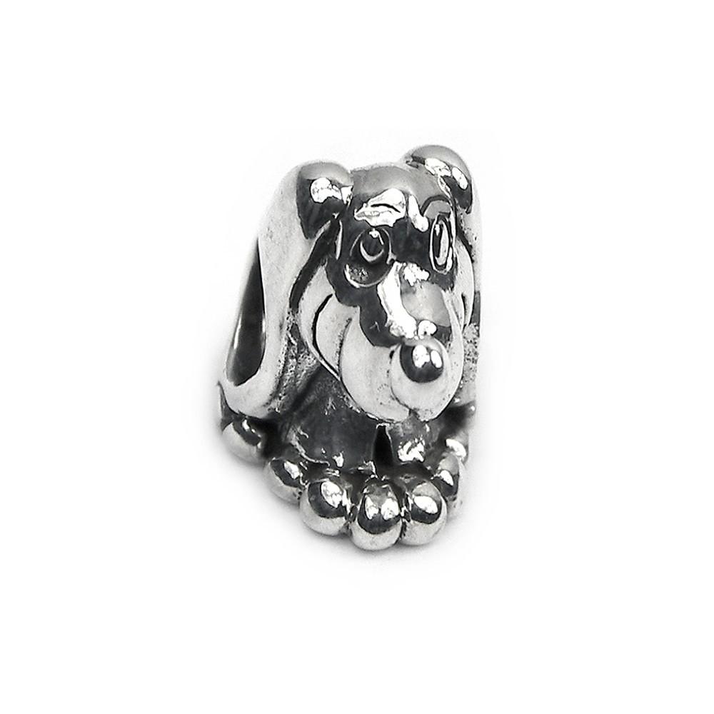 Carlo Biagi Bead Hund 925 Silber European Beads BBS035