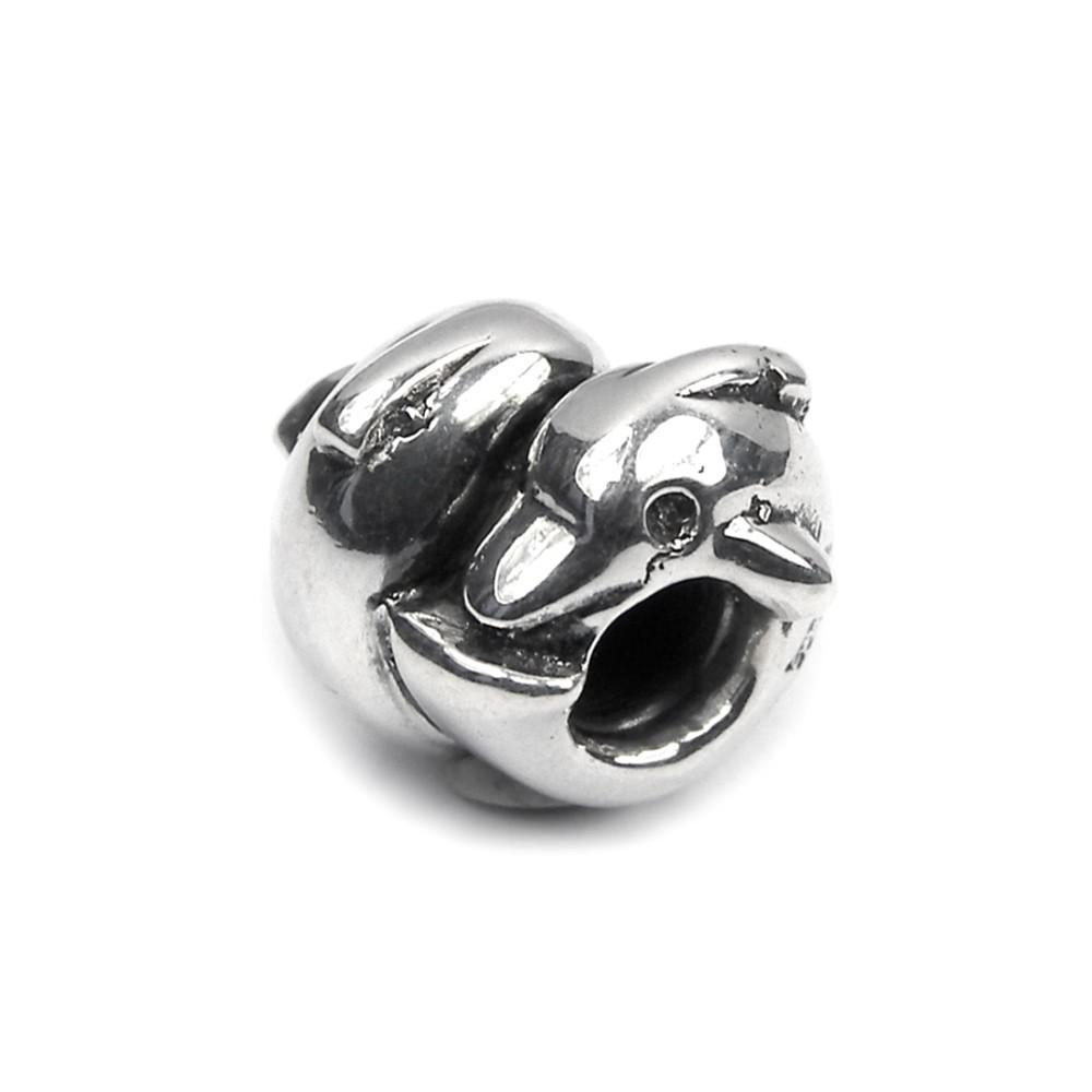 Carlo Biagi Bead Delphin 925 Silber European Beads BBS046