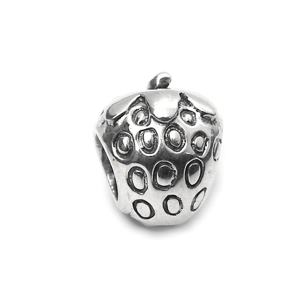 Carlo Biagi Bead Erdbeere 925 Silber European Beads BBS229