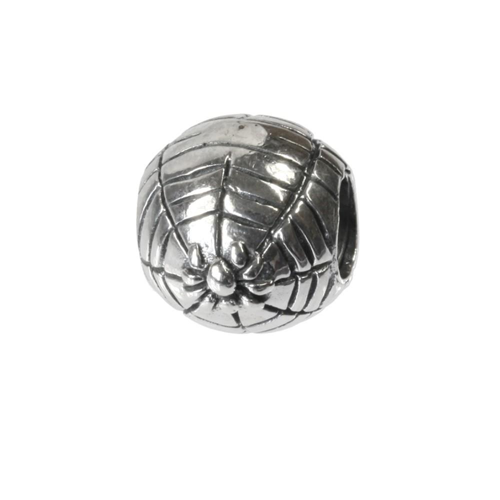 Carlo Biagi Bead Spinnennetz Silber European Beads BBS263