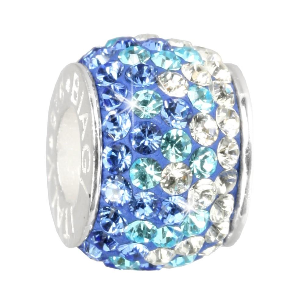 Carlo Biagi Swarovski Elements Bead Ice blau BBSCR03B