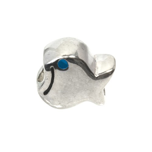 Carlo Biagi Kidz Bead Fisch blau 925 Beads für Armband KBE013