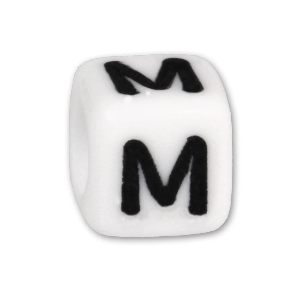 Bead Buchstabe M Beads für Armband KSPPWM