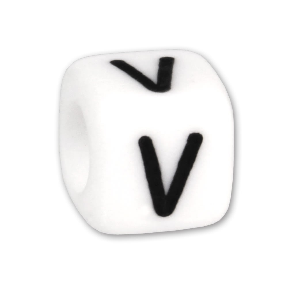Bead Buchstabe V Beads für Armband KSPPWV