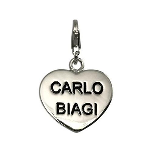 Carlo Biagi Charm Anhänger Herz 925 Silber CSSS03