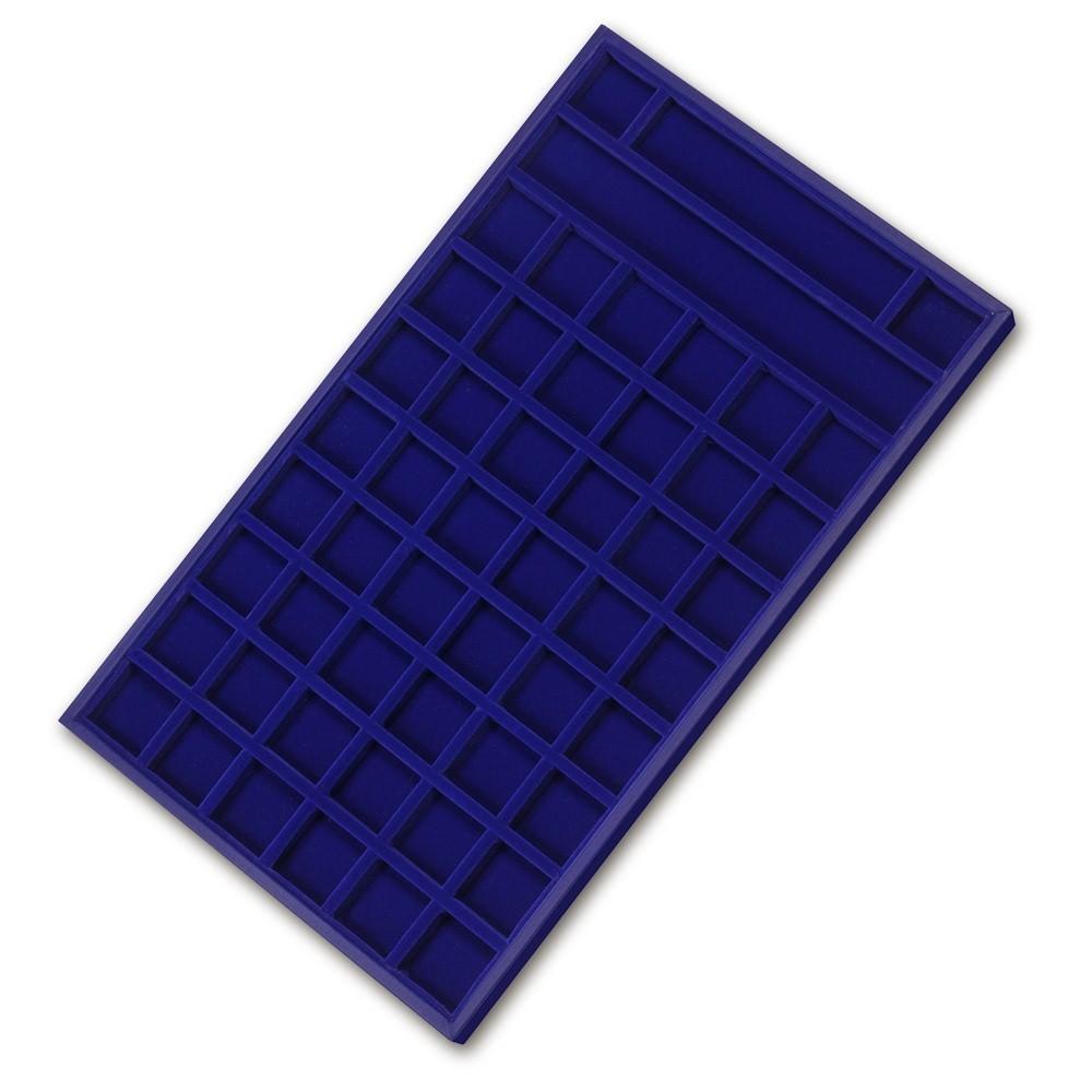 IMPPAC Display Auslage blau Schaufenster Aufsteller DIY30