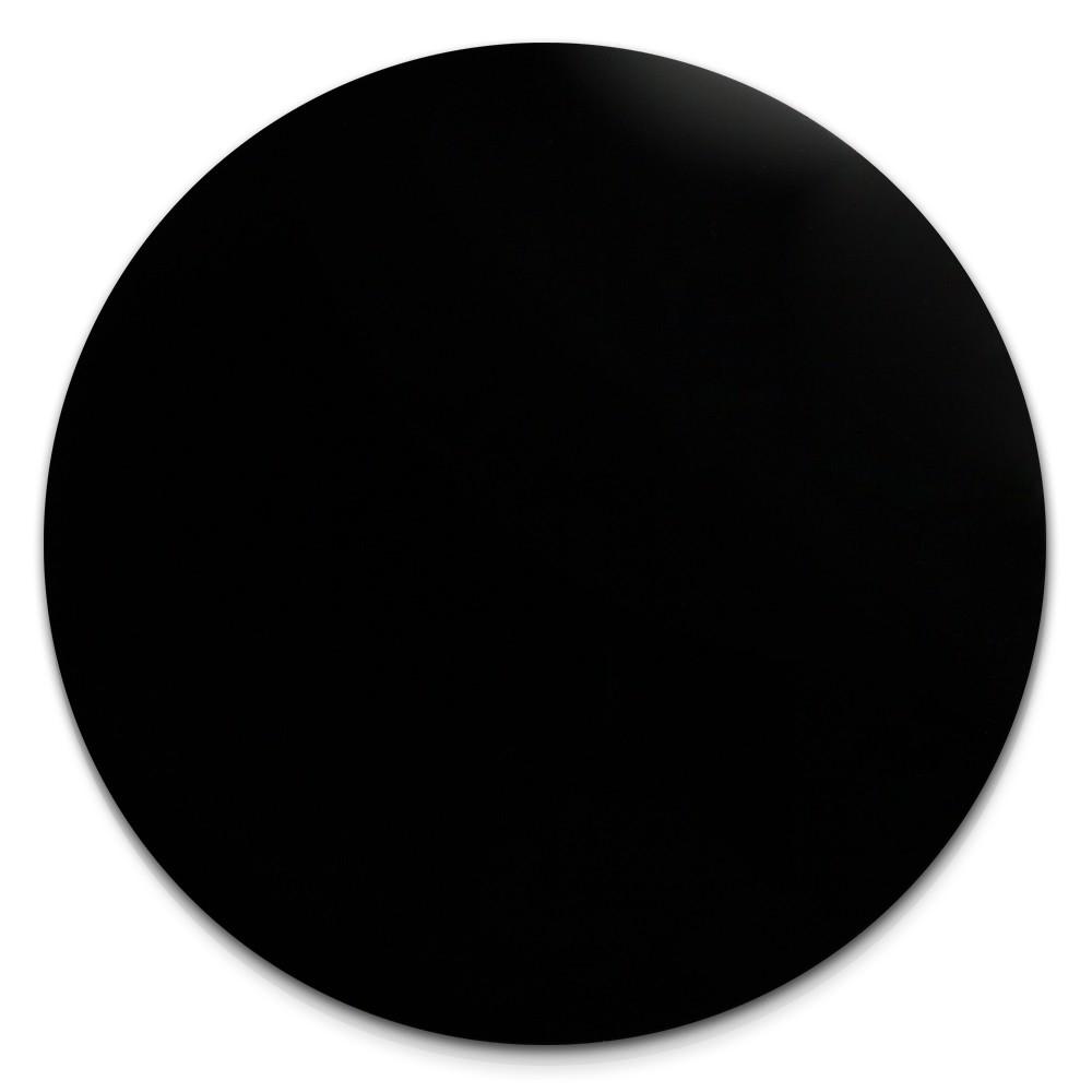 Amello Coin Glas Onyx 30mm schwarz für Coinsfassung Edelstahlschmuck ESC707S