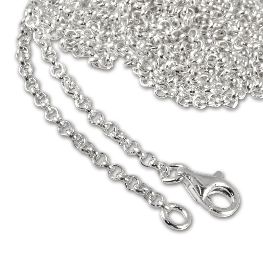 SilberDream Sterling Silber Charm Halskette 100cm FC00281-1