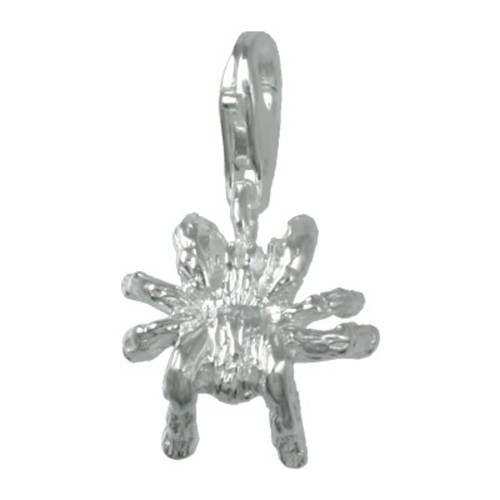 SilberDream 925 Silber Charm Spinne Armband Anhänger FC1038