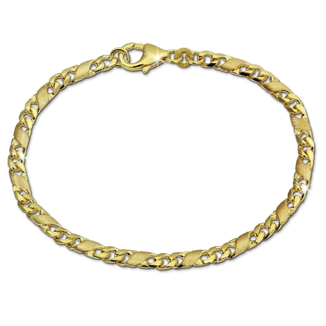 SilberDream Armband Dollar-Kette 333 Gelbgold Damen 19cm GDA0449Y