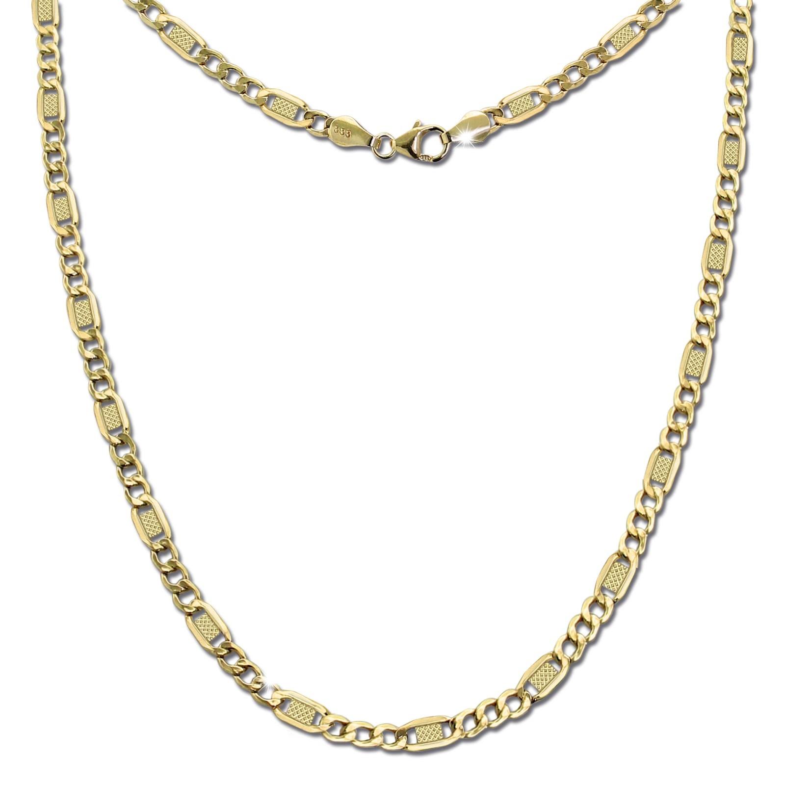 GoldDream Damen Colliers Halskette 45cm Gelbgold 8 Karat GDKB01045Y