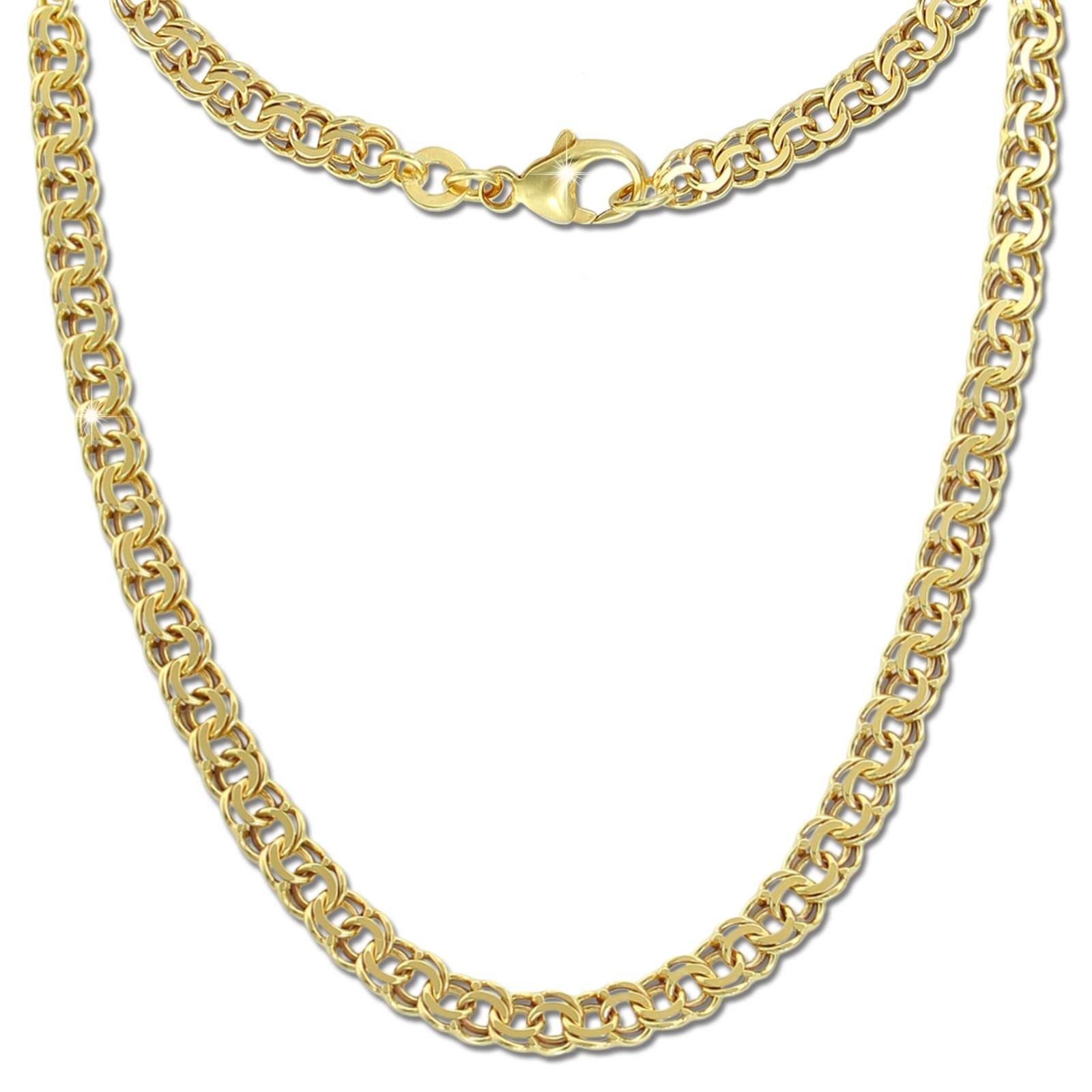 GoldDream Damen Colliers Halskette 60cm Gelbgold 8 Karat GDKB01160Y