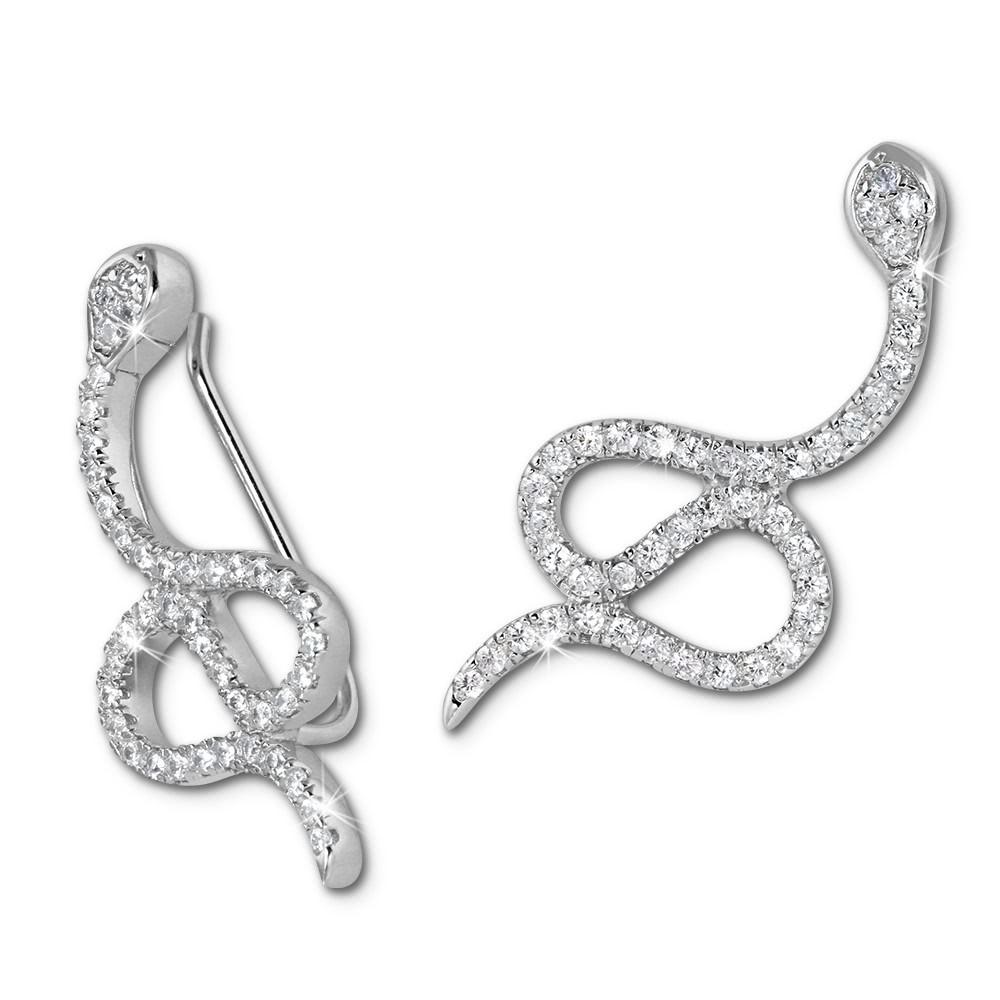 SilberDream Ear Cuff Schlange Ohrringe Ohrklemme 925 Sterling Silber GSO452W