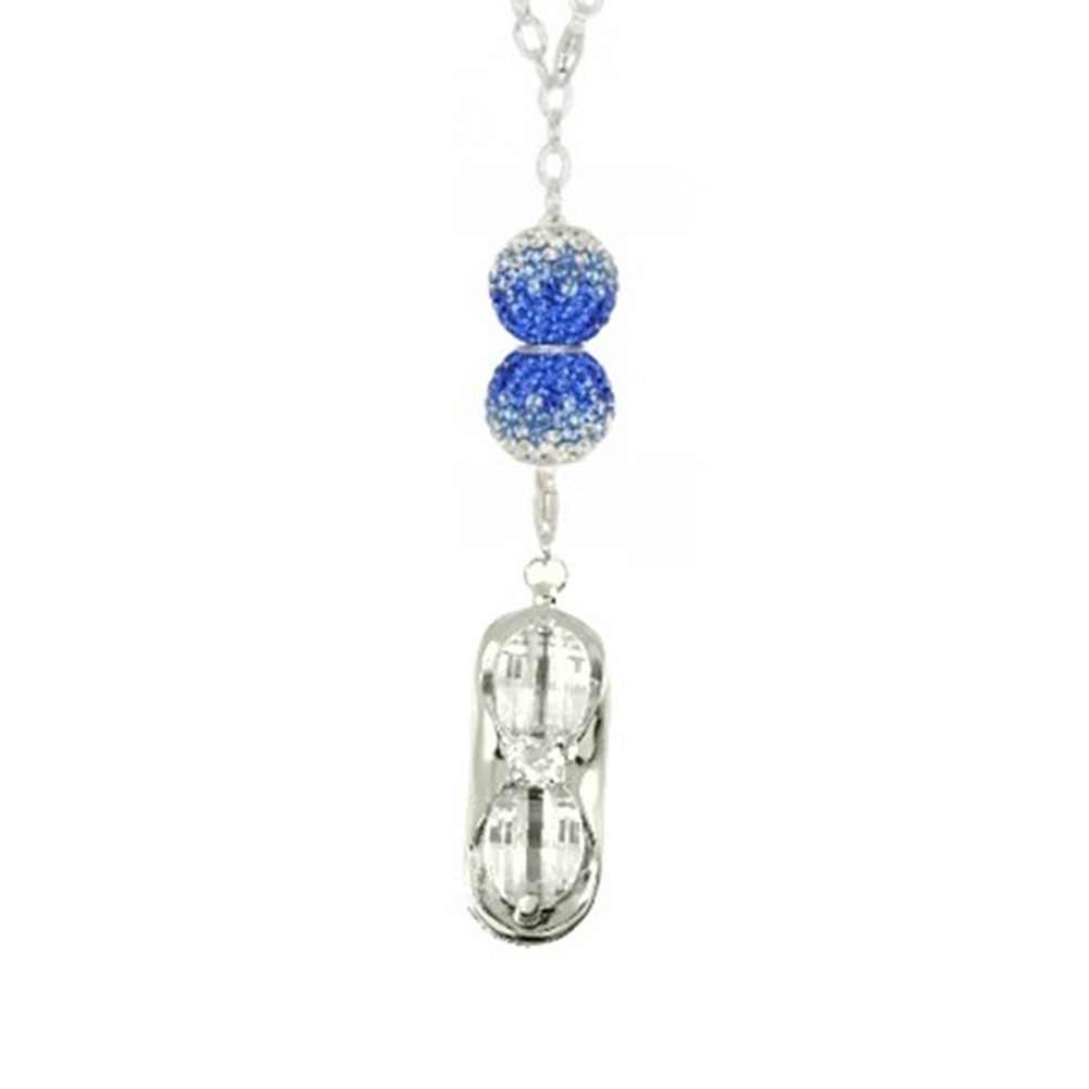 SilberDream Set Kette Swarovski Elements & USB Charm 8GB GSS012
