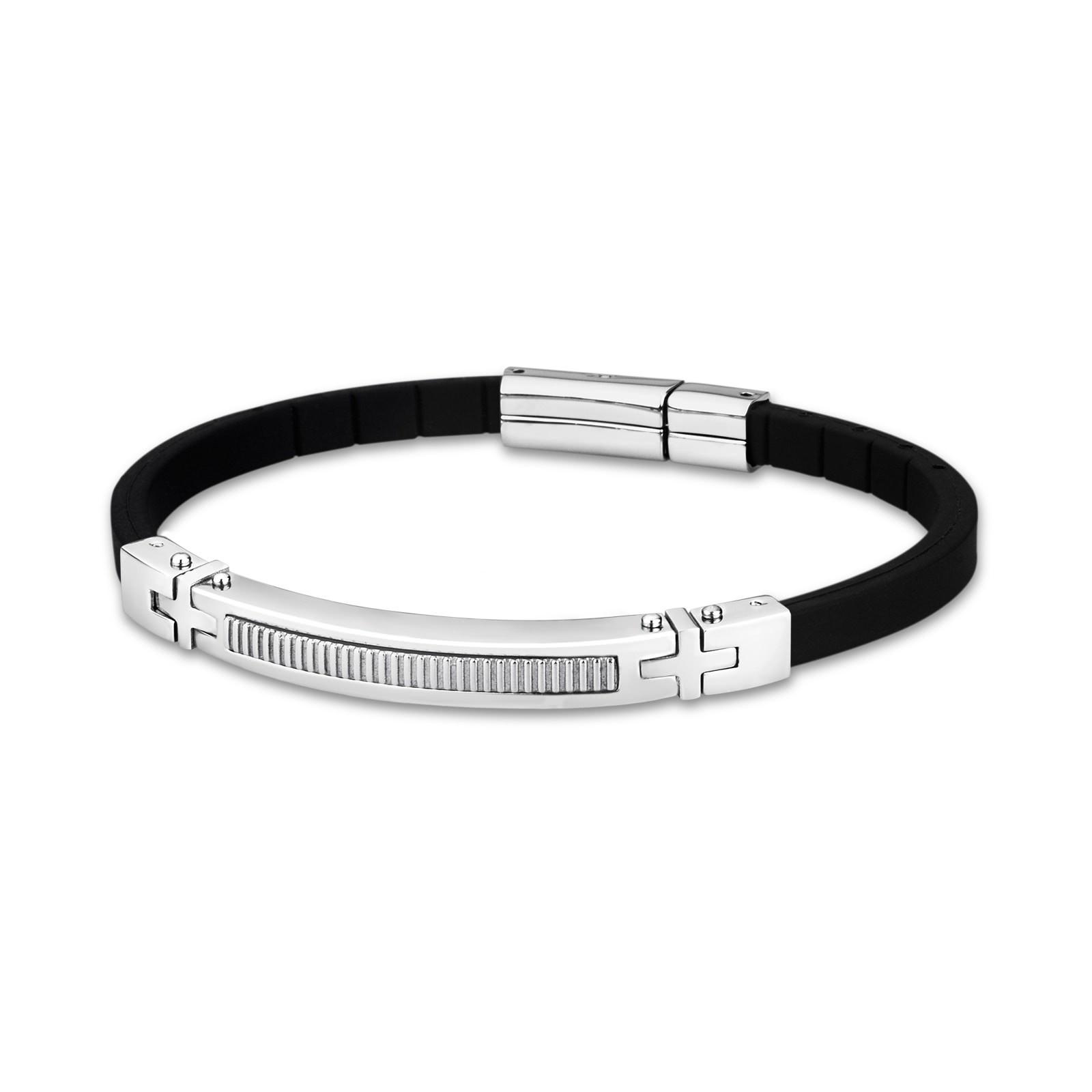 LOTUS Style Herren Armband Men Basic-Kollektion Edelstahl JLS1642-2-1