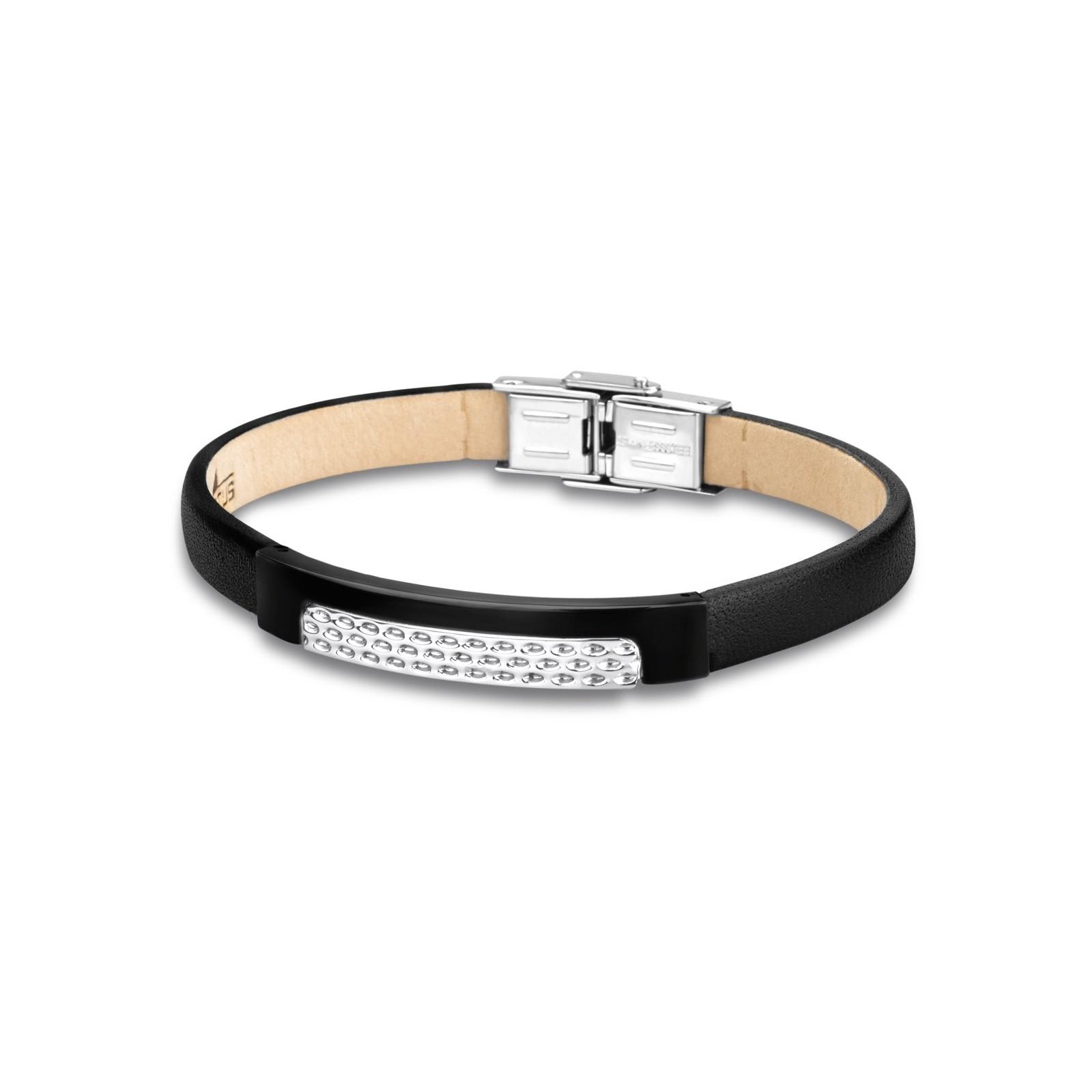LOTUS Style Herren Armband Men in Black-Kollektion Edelstahl JLS1653-2-2
