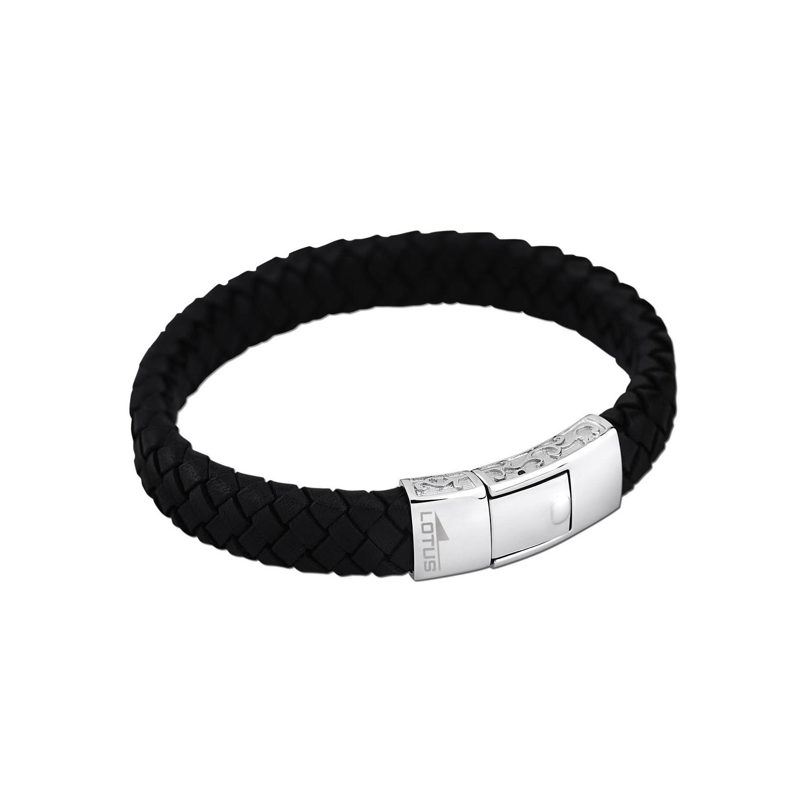 LOTUS Style Herren Armband Men Basic-Kollektion Edelstahl JLS1699-2-1