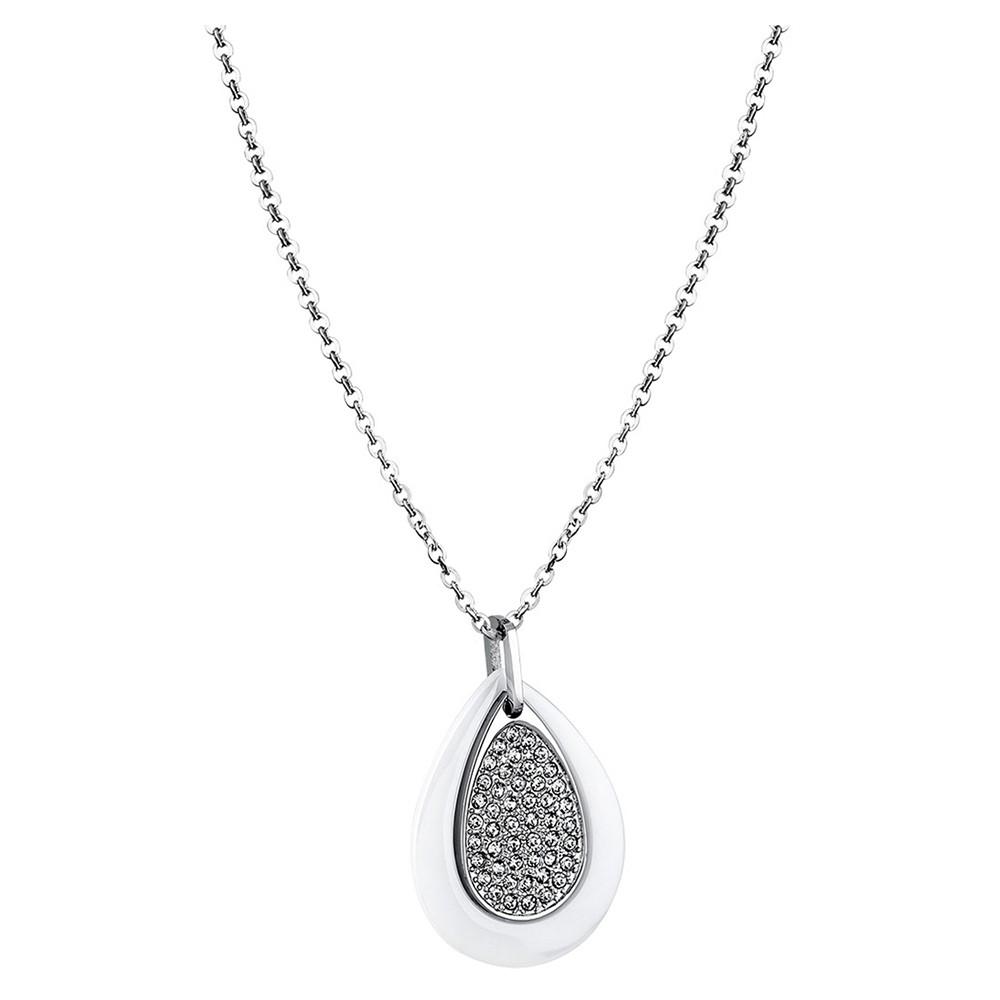 LOTUS Style Damen Halskette Ceramic-Kollektion Edelstahl Keramik JLS1706-1-1