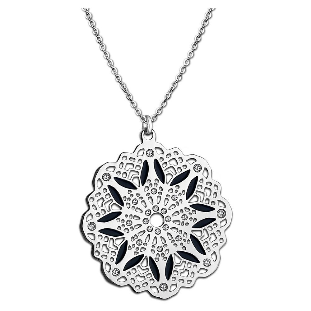 LOTUS Style Damen Halskette Privilege-Kollektion Edelstahl JLS1720-1-2