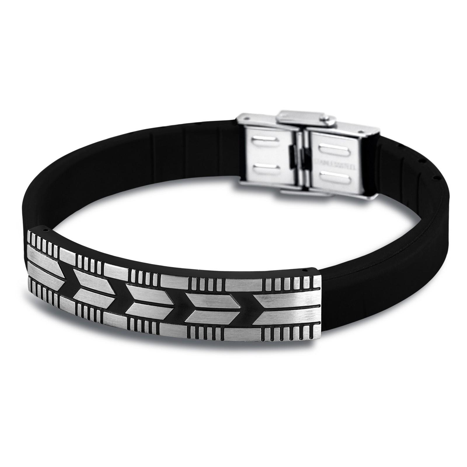 LOTUS Style Herren Armband Man in Black Edelstahl-Schmuck JLS1729-2-2