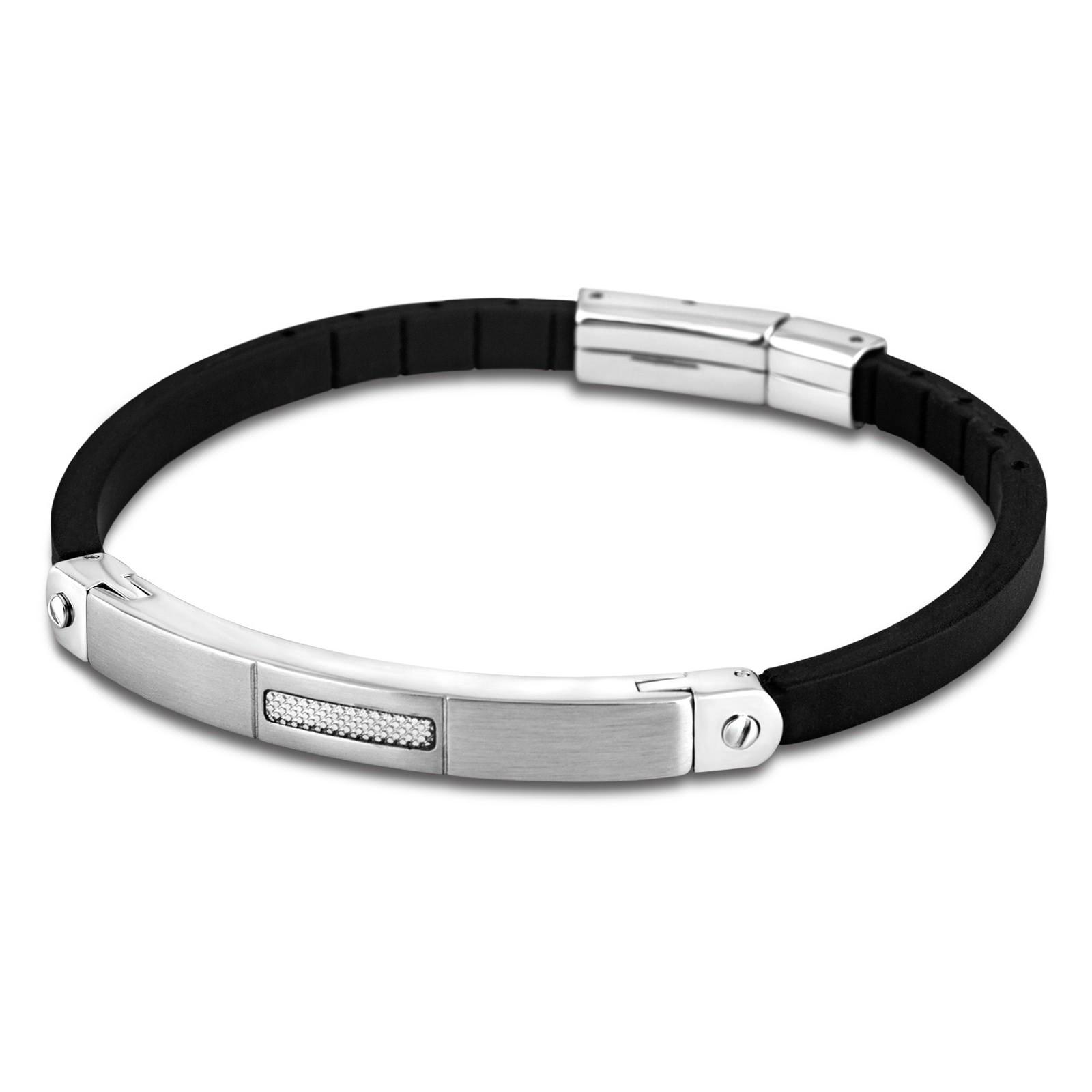 LOTUS Style Herren Armband Men in Black Edelstahl-Schmuck JLS1731-2-1