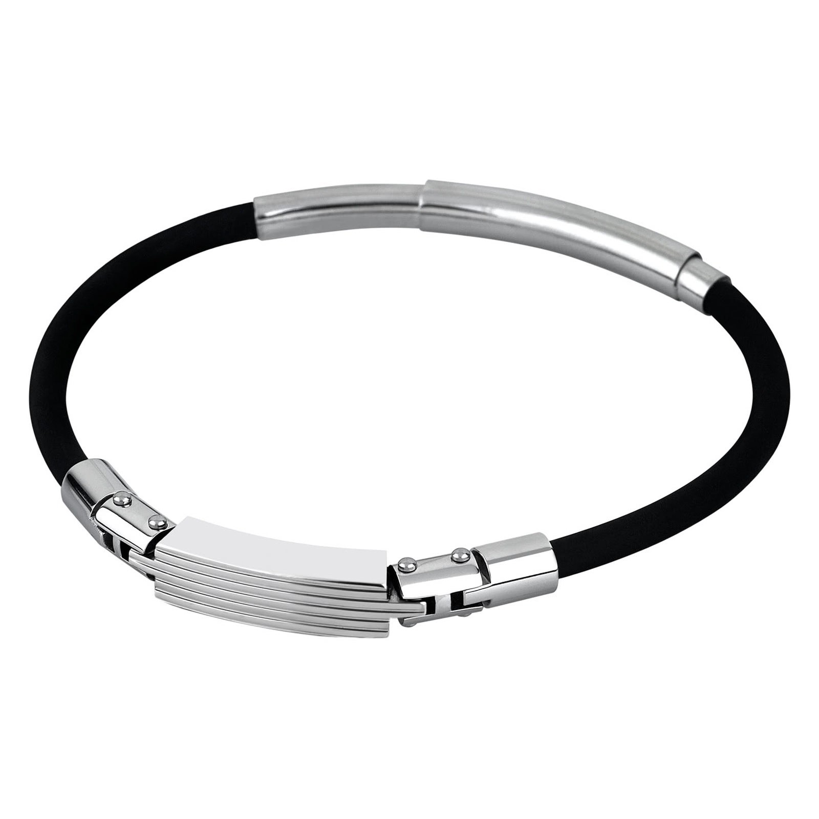 LOTUS Style Herren Armband Men in Black Edelstahl-Schmuck JLS1736-2-1