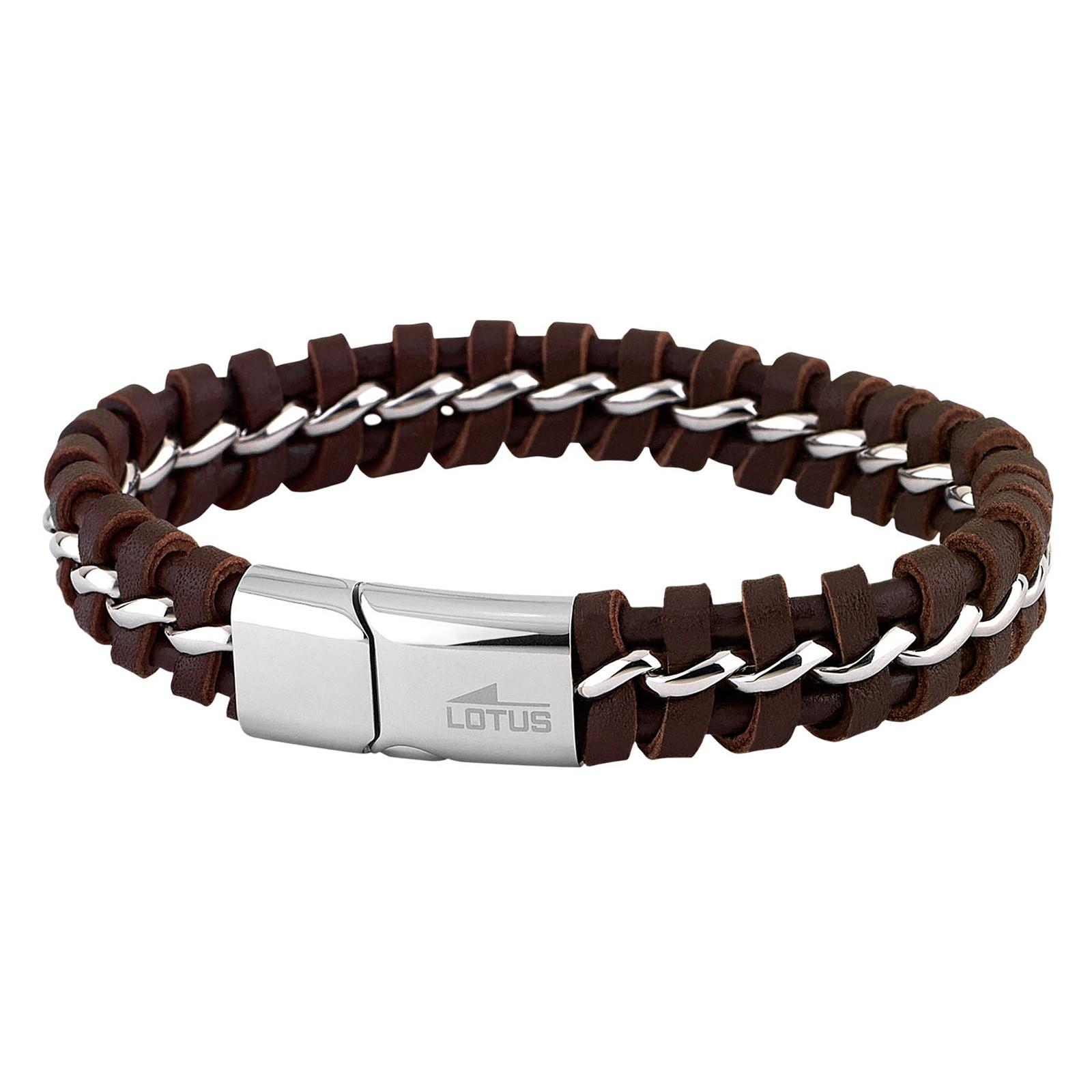 LOTUS Style Herren Armband Men in Black Edelstahl-Schmuck JLS1740-2-1