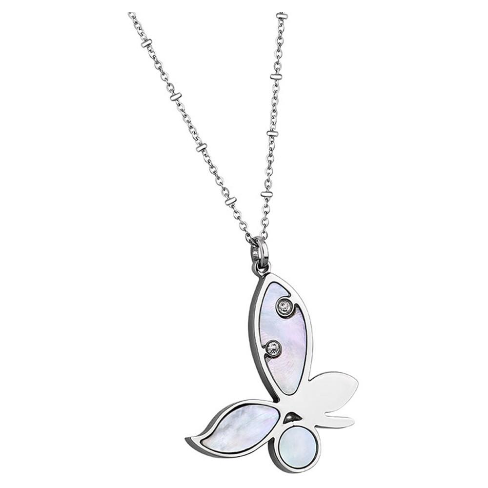 LOTUS Style Damen Halskette Woman`s Heart Edelstahl-Schmuck JLS1745-1-1