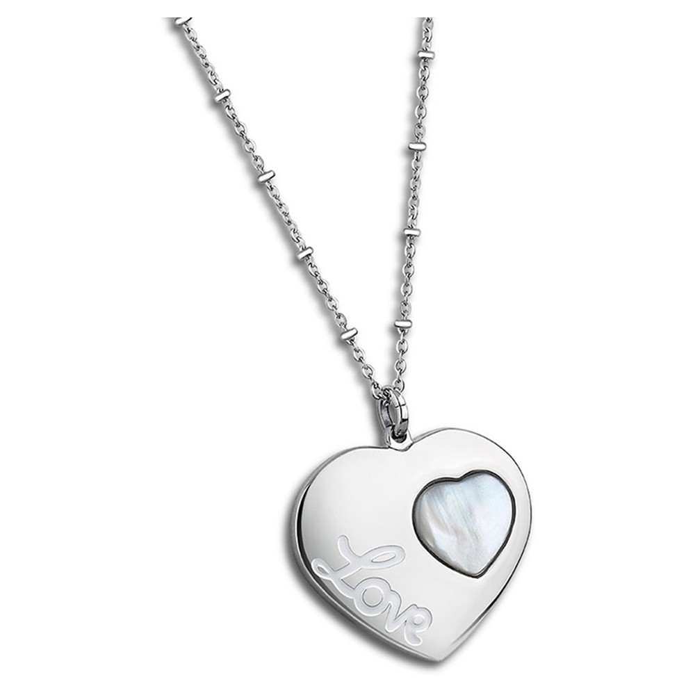 LOTUS Style Damen Halskette Woman`s Heart Edelstahl-Schmuck JLS1748-1-1