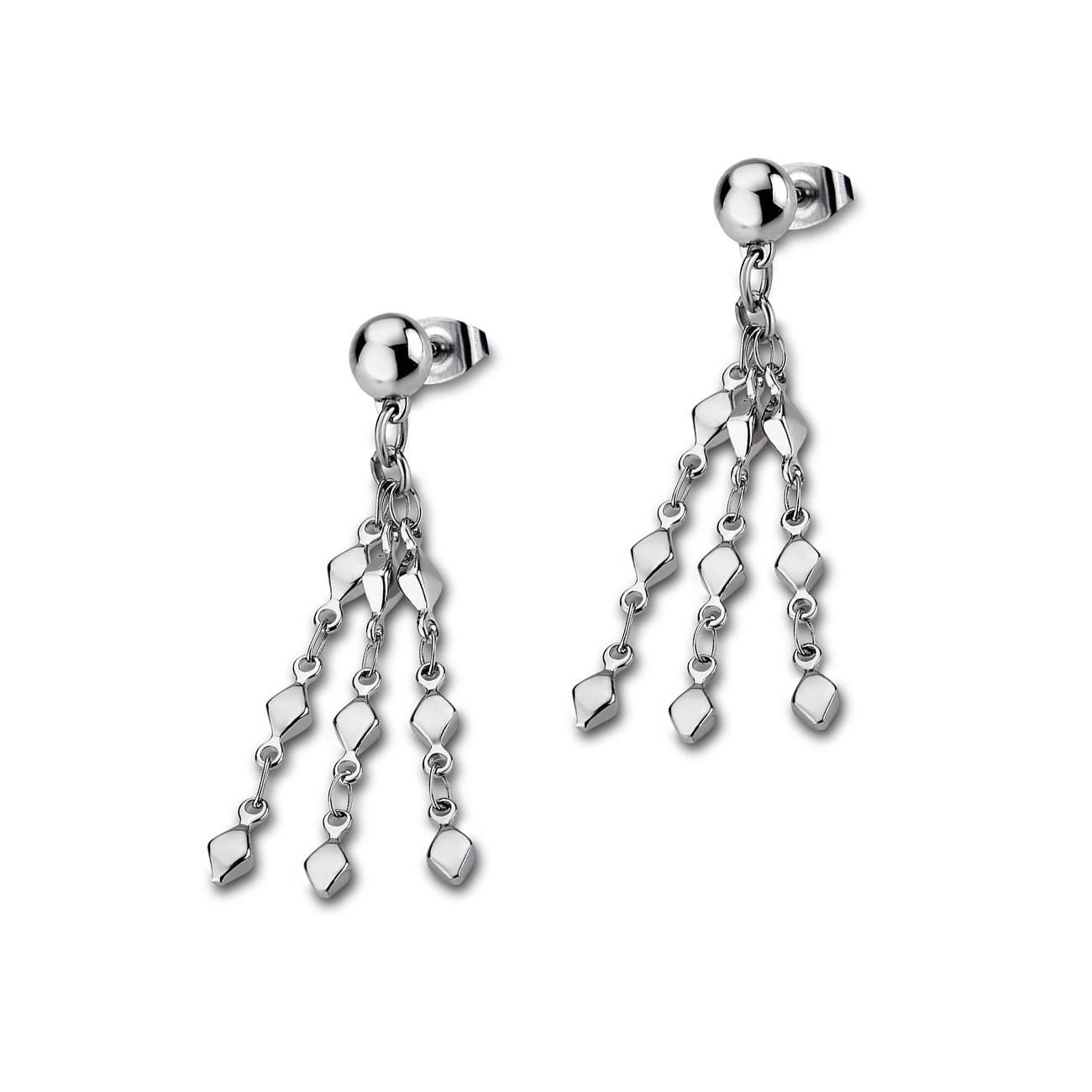LOTUS Style Ohrringe Damen Edelstahl silber LS1764-4/1 Ohrhänger JLS1764-4-1