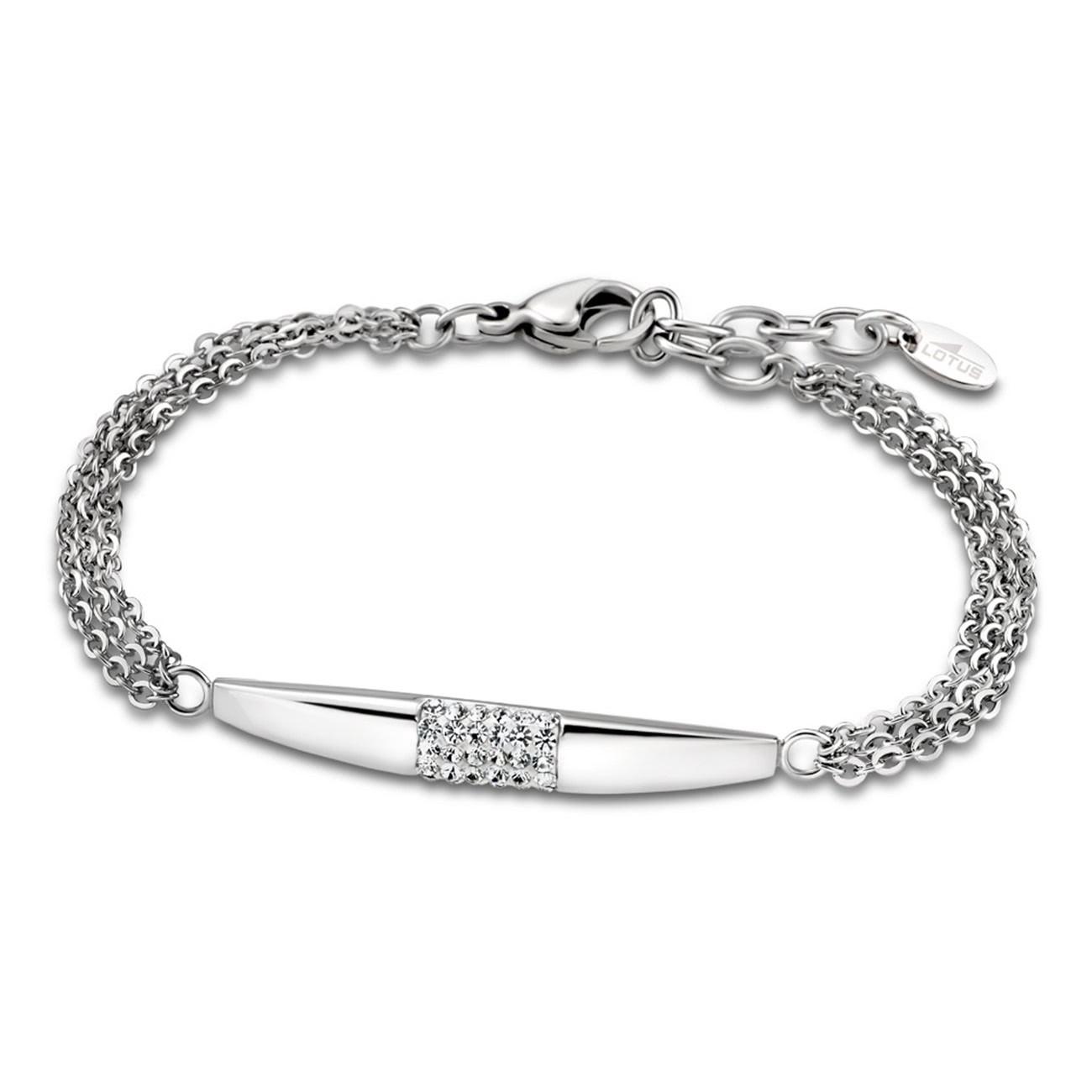 LOTUS Style Armband Damen Multilayer LS1767-2/1 Edelstahl silber JLS1767-2-1
