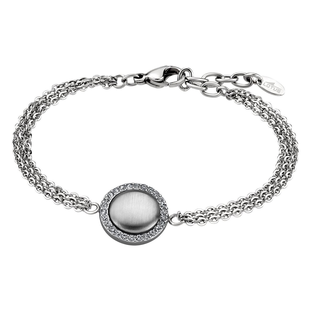 LOTUS Style Armband Damen Edelstahl Multilayer LS1775-2/1 Glitzer JLS1775-2-1