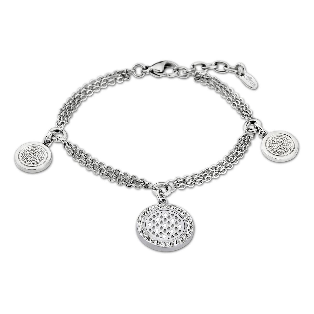 LOTUS Style Armband Damen Edelstahl silber LS1777-2/1 Privilege JLS1777-2-1