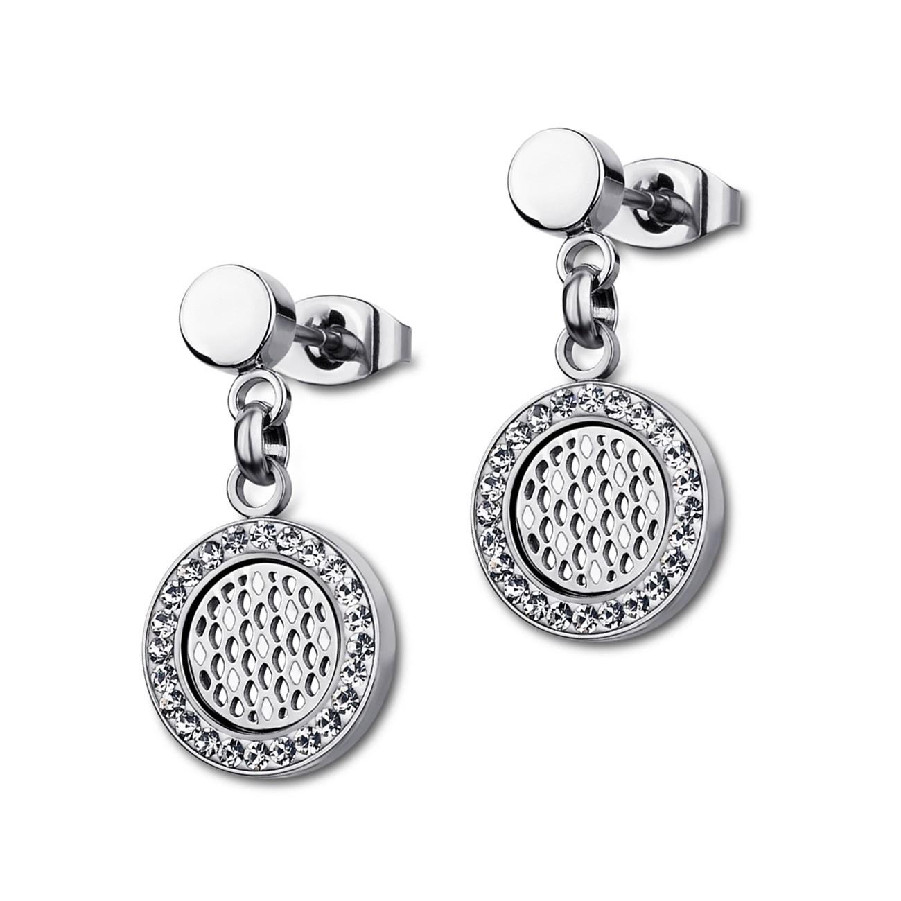 LOTUS Style Ohrringe Damen Edelstahl silber LS1777-4/1 Ohrstecker JLS1777-4-1