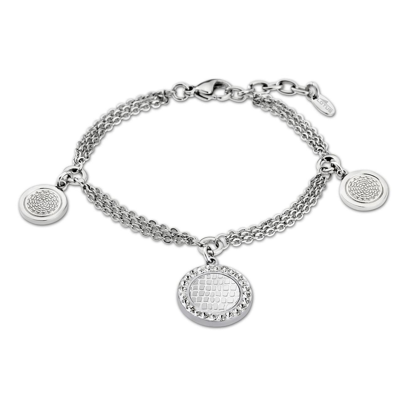 LOTUS Style Armband Damen Edelstahl silber LS1778-2/1 Privilege JLS1778-2-1