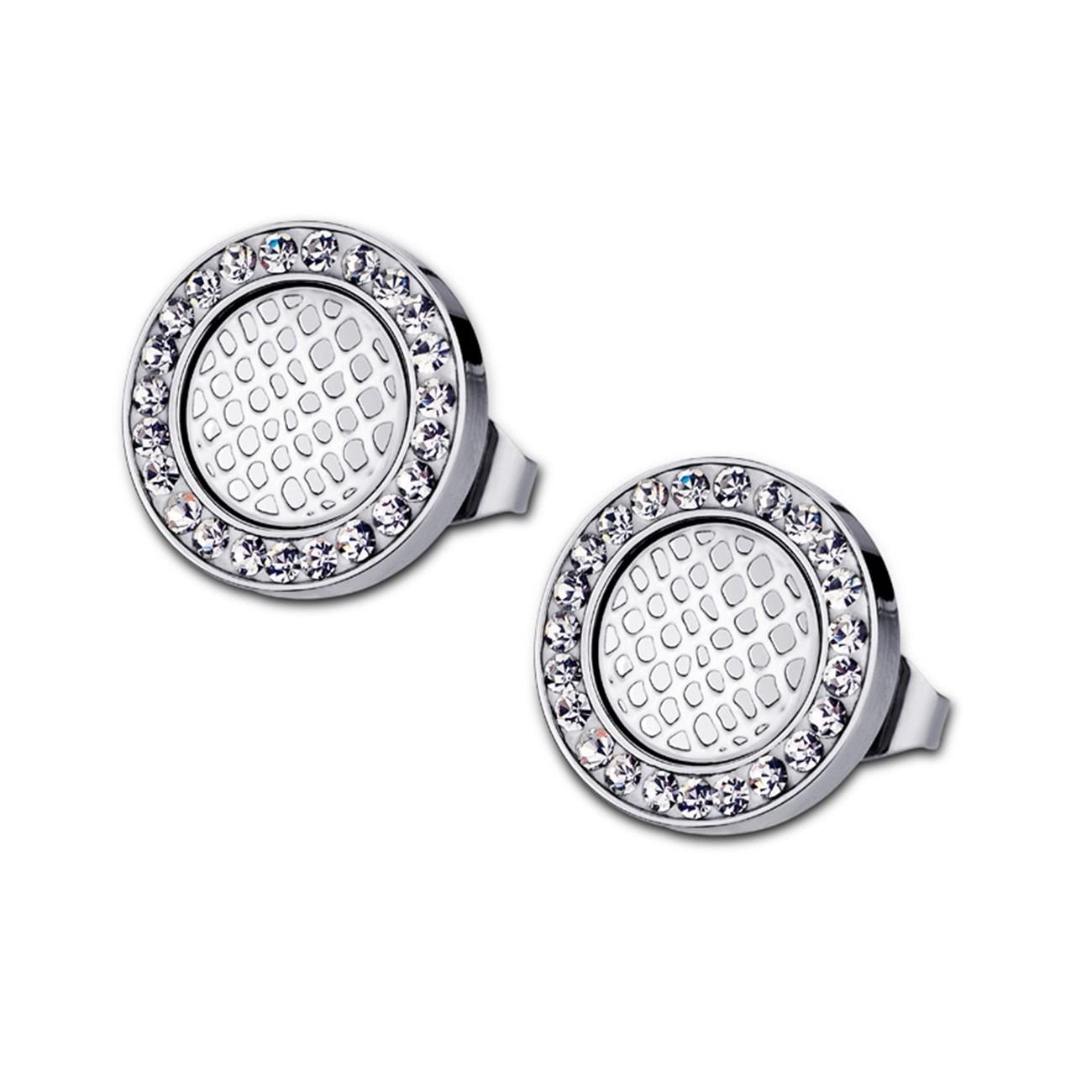 LOTUS Style Ohrringe Damen Edelstahl silber LS1778-4/1 Ohrstecker JLS1778-4-1