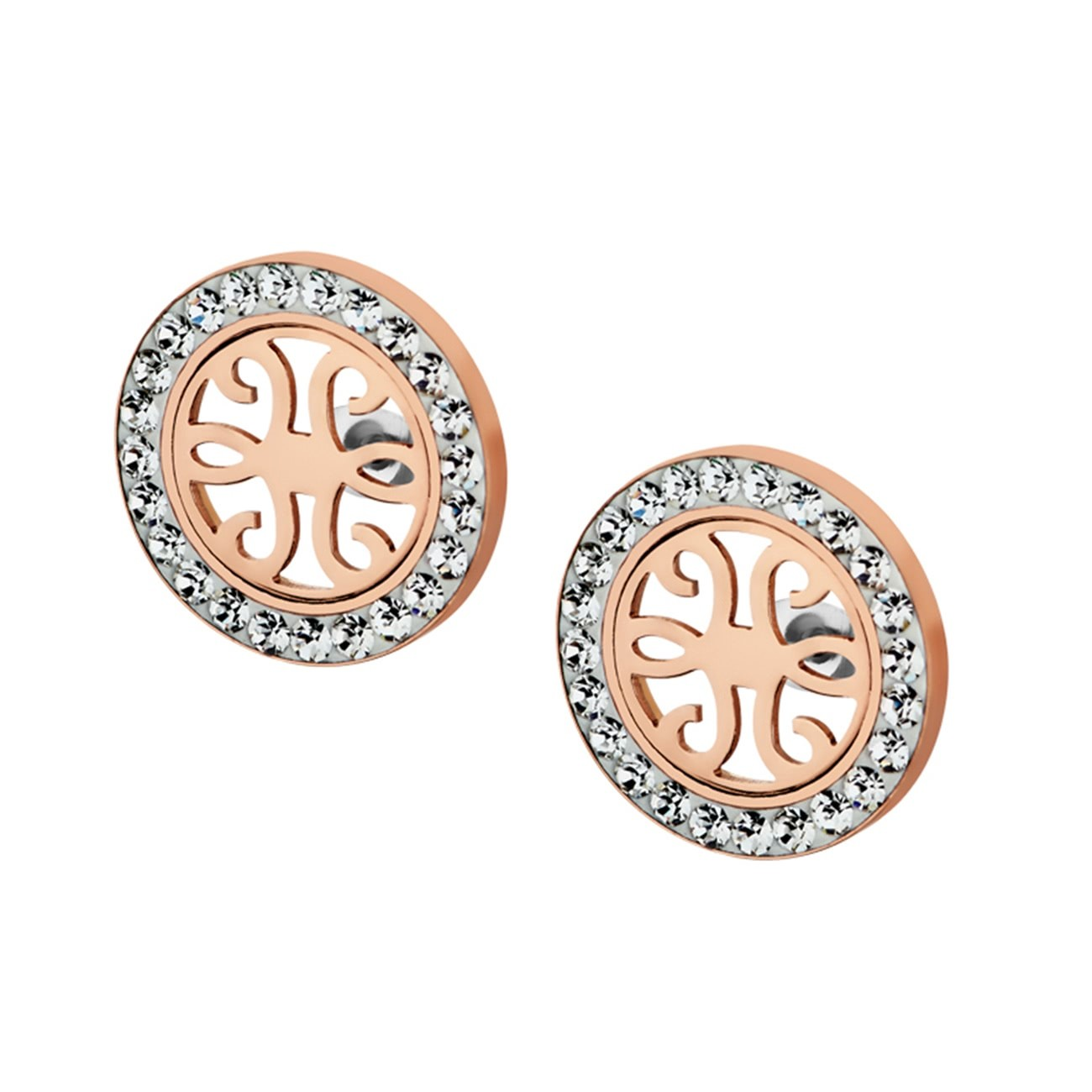 LOTUS Style Ohrringe Damen Edelstahl silber LS1779-4/2 Ohrstecker JLS1779-4-2