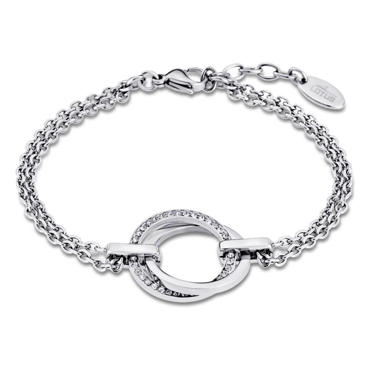 LOTUS Style Armband Damen Edelstahl silber LS1780-2/1 Privilege JLS1780-2-1