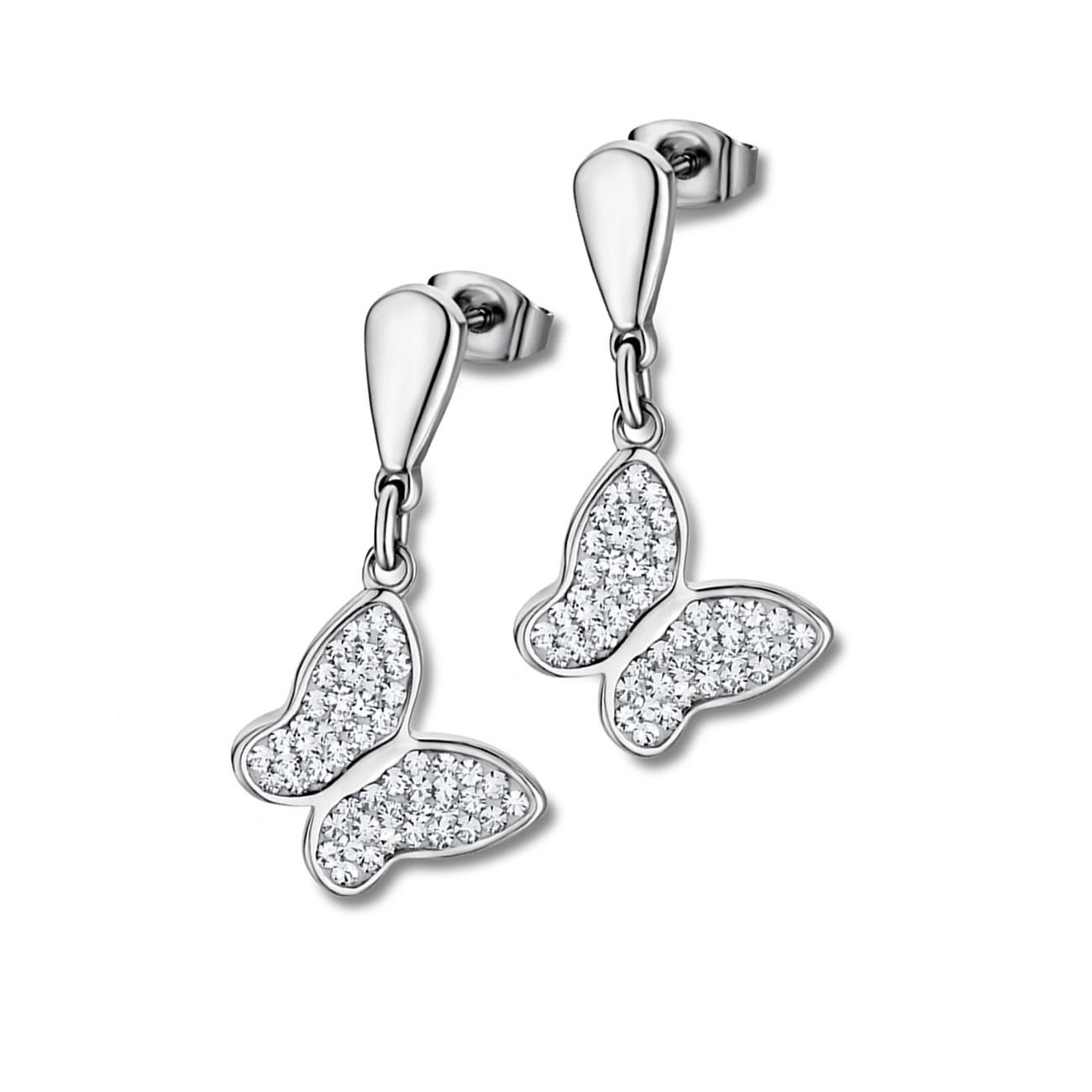 LOTUS Style Ohrringe Damen Edelstahl silber LS1782-4/1 Ohrstecker JLS1782-4-1