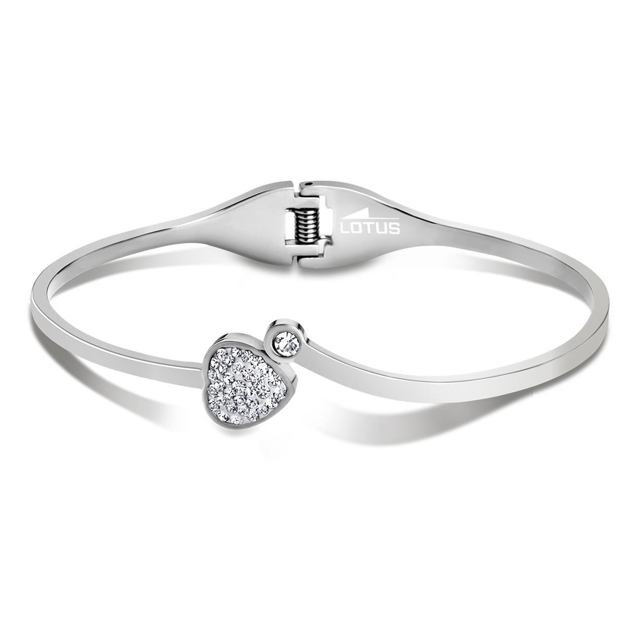 LOTUS Style Armreif Damen Edelstahl silber LS1791-2/1 Trendy JLS1791-2-1