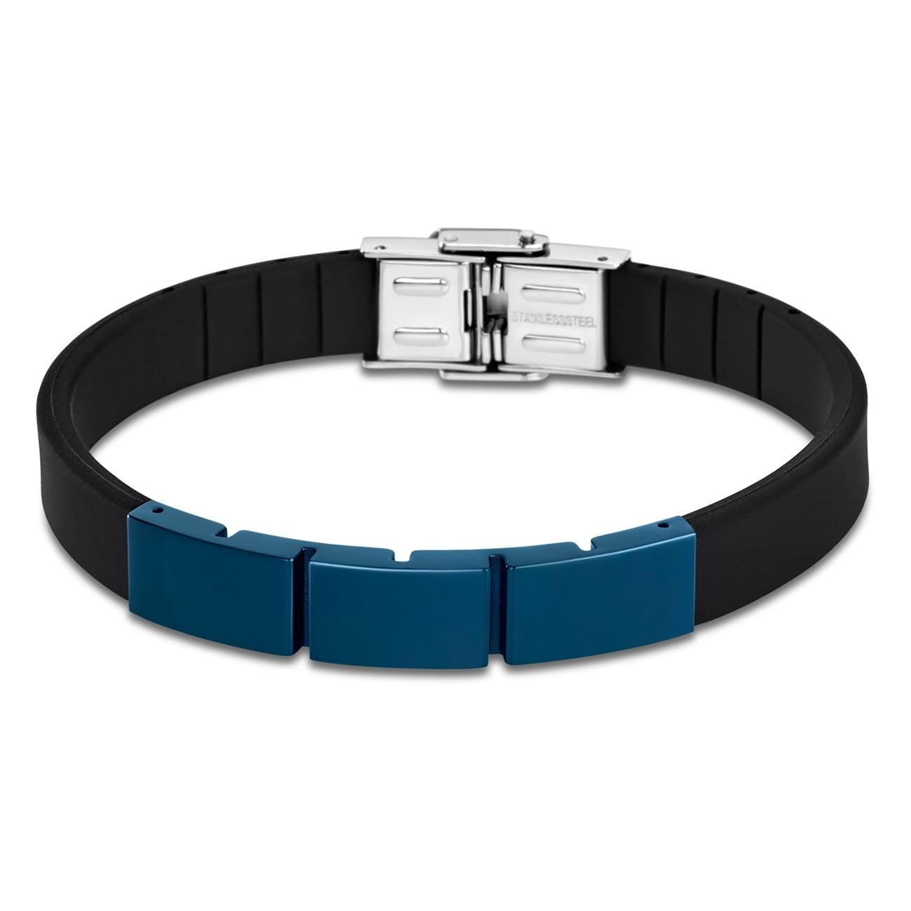 LOTUS Style Armband Herren LS1796-2/2 Edelstahl schwarz blau JLS1796-2-2