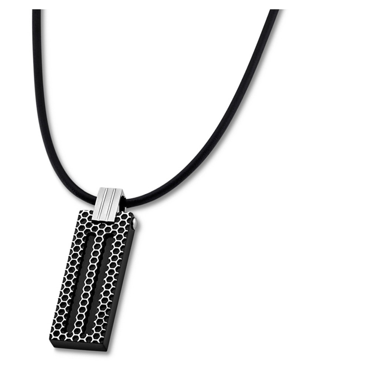 LOTUS Style Halskette Herren Edelstahl schwarz LS1797-1/4 Schmuck JLS1797-1-4