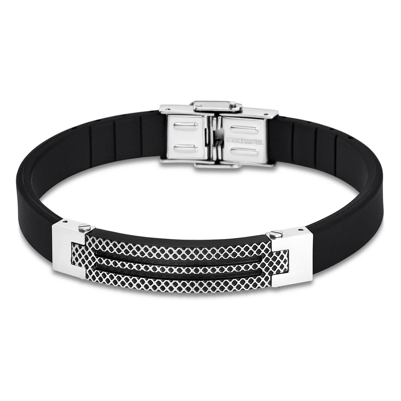 LOTUS Style Armband Herren Edelstahl schwarz LS1797-2/4 Schmuck JLS1797-2-4