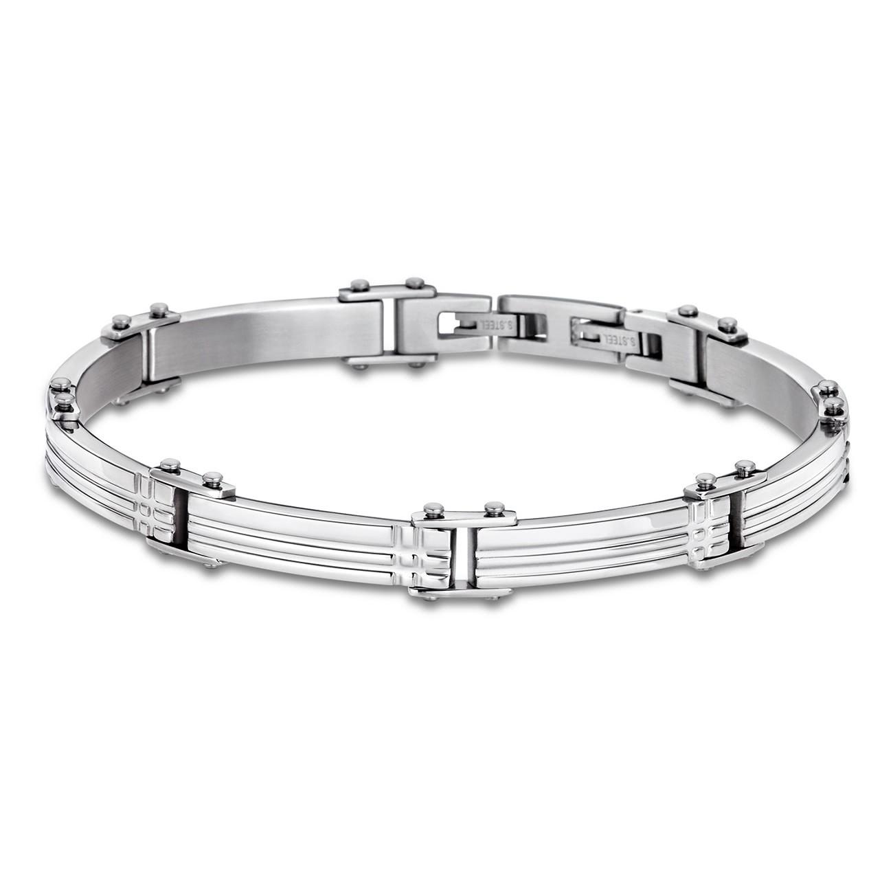 LOTUS Style Armband Herren Edelstahl silber LS1801-2/1 Schmuck JLS1801-2-1
